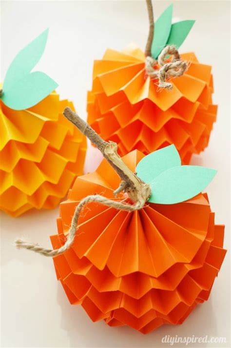 Orange Craft Paper - celebrate the season 25 easy fall crafts for paper