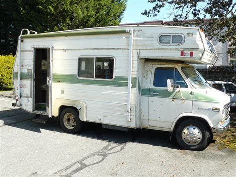 chevy motorhome 24ft 1976 chevy 350 motorhome for sale esquimalt view