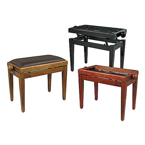 adjustable piano bench review musician s gear adjustable piano bench frame guitar center
