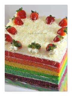 Pewarna Makanan Biru Ny Liem ncc rainbow week rainbow cake indah rahma