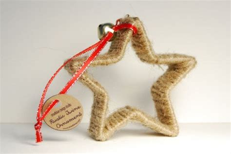 twine wrapped cookie cutter ornament christmas