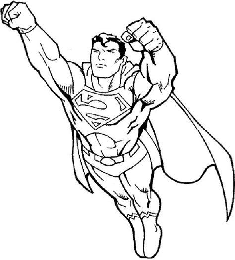 superman coloring pages online free coloring pages for boys superman clips pinterest