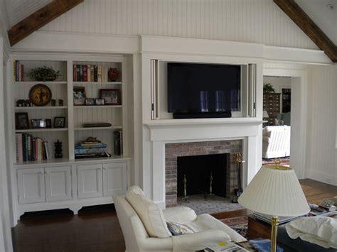 TV & Media Custom Cabinetry & Millwork   Platt Builders