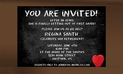 word templates for retirement invitations retirement party invitation templates download free