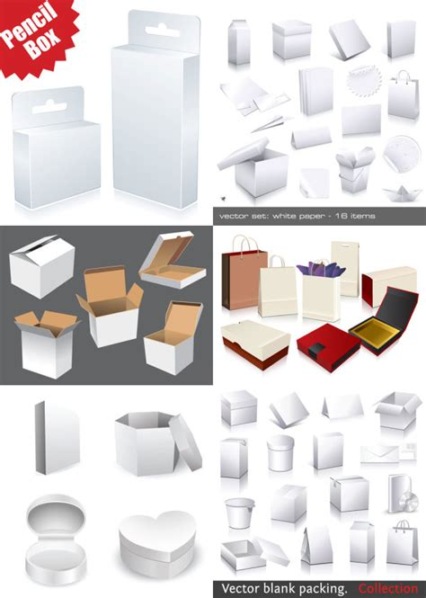 graphic design packaging templates utility box template vector free vectors