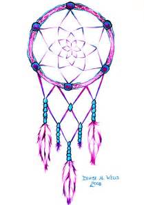 Design Dream Pink Dreamcatcher Tattoo Design By Denise A Wells Flickr