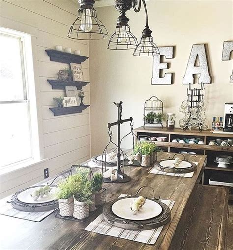 cool rustic hanging l ideas for contemporary dining dining room dining room decor farmhouse cool rustic dining