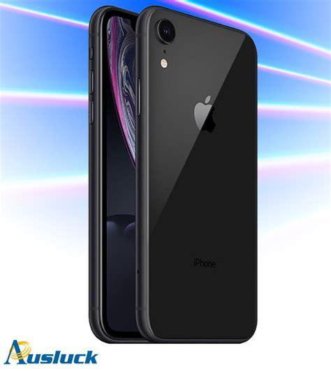 apple iphone xr gb black unlocked brand  mryxa