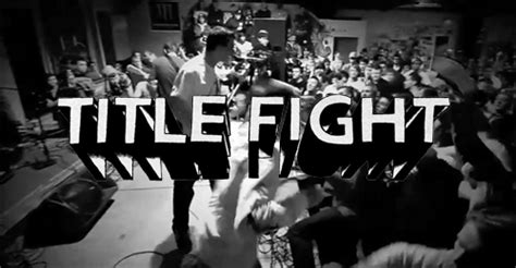 Shed Title Fight Lyrics by Ned Russin On