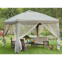Gazebo Compact by 10x10 Portable Patio Gazebo 197166 Gazebos At