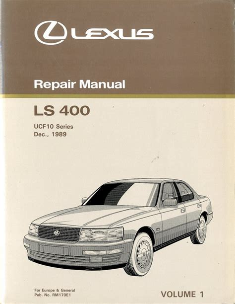 free download parts manuals 1990 lexus ls on board diagnostic system 1990 lexus ls 400 chassis body repair manual english