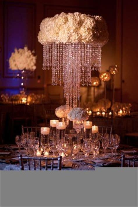 Help Diy Crystal Chandelier Centerpiece Weddings Style Diy Chandelier Centerpiece