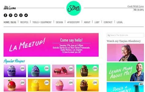 layout blog wix wix blog exles powered by wix com