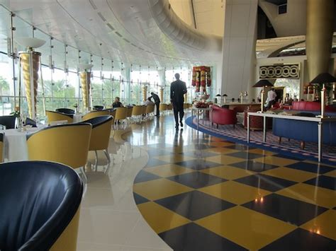 Lucky Rich Air Lounge afternoon tea at the burj al arab one mile at a time
