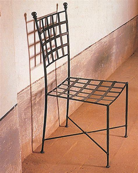 sedia in ferro battuto sedie in ferro battuto letti in ferro battuto caporali