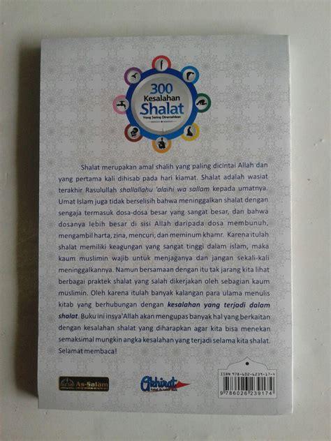 Shalat Tapi Keliru Cover buku 300 kesalahan shalat yang sering diremehkan