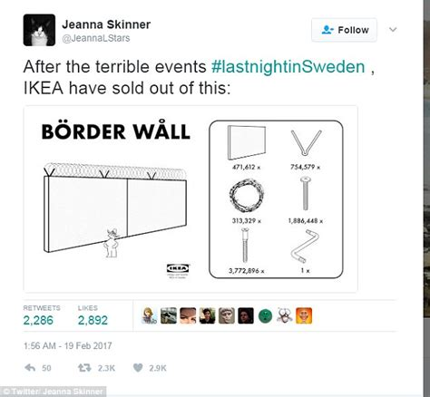 ikea uk on twitter quot a place to snuggle day and night our trump under fire for made up terror attack in sweden