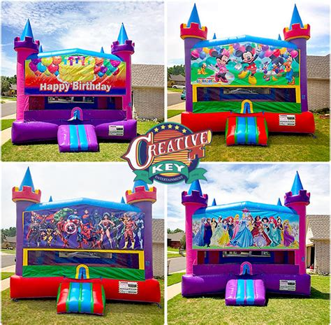 bounce house okc party event inflatable bounces