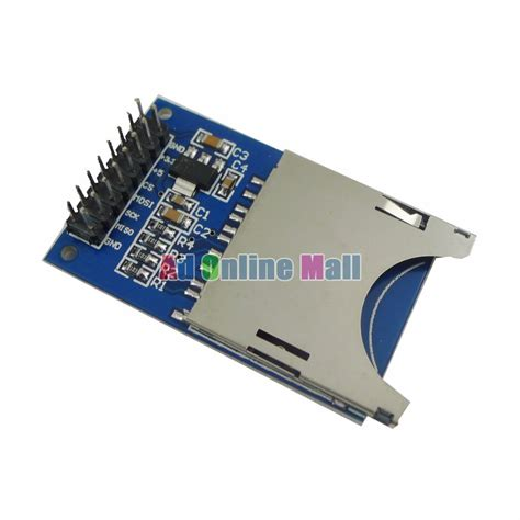 integrated circuit memory cards sd card reading and writing module slot socket reader for arduino arm mcu in integrated circuits