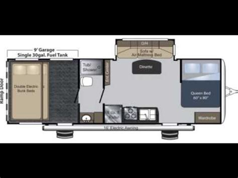 raptor rv floor plans raptor 27fs travel trailer toy hauler at big daddy rv s