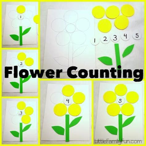 Kindergarten Activities Spring | 5 fun counting activities for spring spring lesson