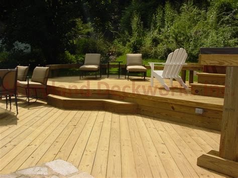 Designer Decks And Patios Annapolis Single Multi Level Custom Decks Annapolis Decks And Patios