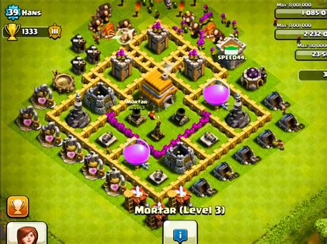 basic layout building guide clash of clans town hall level 6 strategy guide clash of clans tips