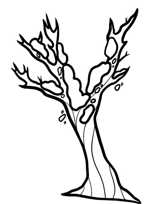 Bare Tree Coloring Page Az Coloring Pages Beautiful Trees Coloring Page