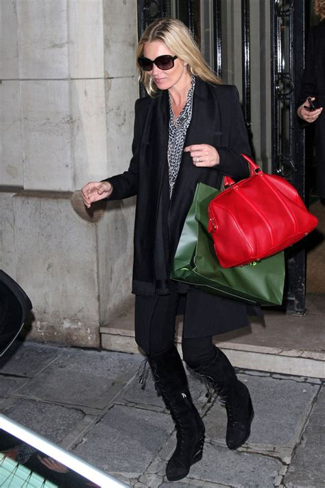 Name That Purse Kate Moss by Kate Moss Leather Tote Kate Moss Handbags Looks