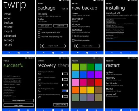 android themes ui metro ui twrp theme for android phones released