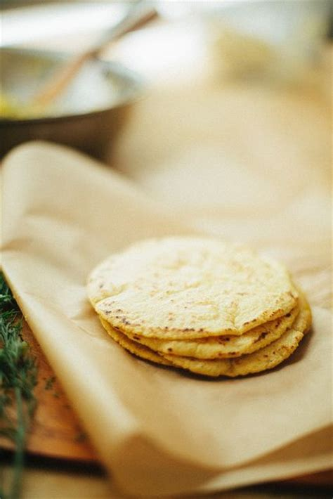 Handmade Corn Tortillas - corn tortillas and salts on