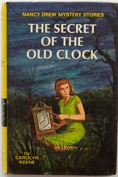 the in the books nancy drew 1 the secret of the clock 1959 edition