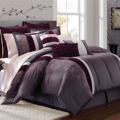 master bedroom comforters passionate about purple dream house ideas pinterest