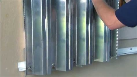 Hurricane Preparedness Metal Storm Shutter Installation