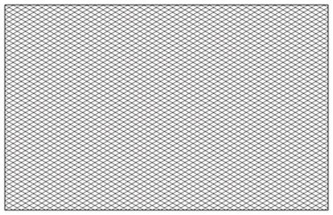 printable isometric paper landscape isometric graph paper template 11 x 17 8 5x11 printable pdf