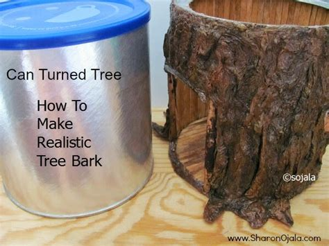 how to a to bark obsessions how to make realistic tree bark