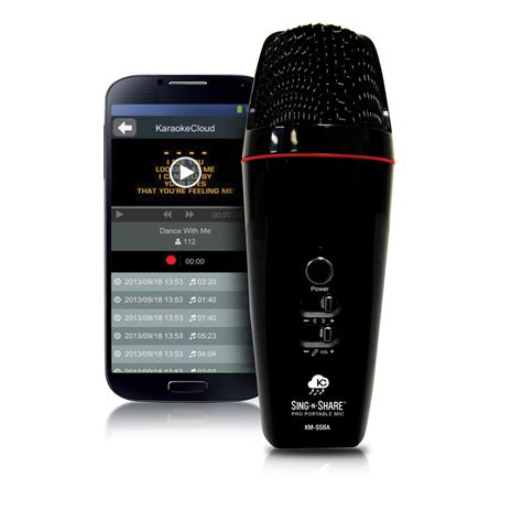 acesonic sing n share pro portable microphone for android