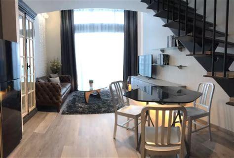 The Kitchen Bangkok Ekkamai by The Lofts Ekkamai 1 Bedroom Duplex Condo For Rent