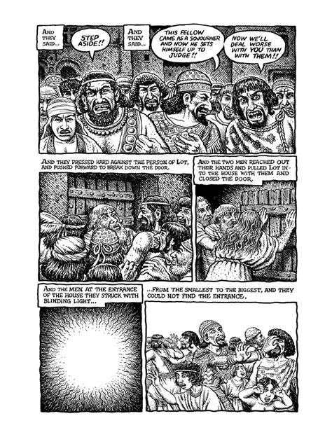 the book of genesis illustrated by r crumb viecesslego the book of genesis illustrated by