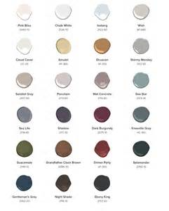 2017 color palettes 2017 home color trends snows home and garden