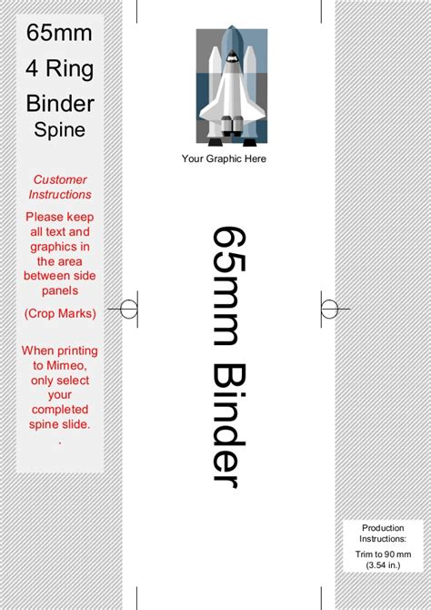 ring binder label template binder spine template images