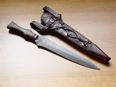 Handmade Dagger - dbk custom swords handmade historical custom scabbards