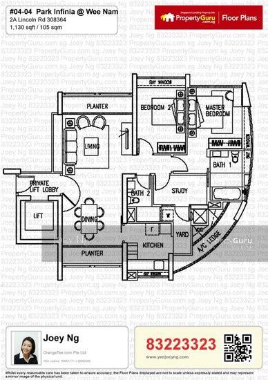 park infinia floor plan park infinia at wee nam 2 lincoln road 2 bedrooms 1130