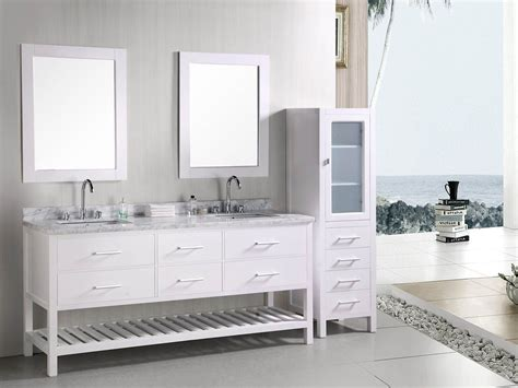 72 White Bathroom Vanity by 72 Quot Sink Vanity White