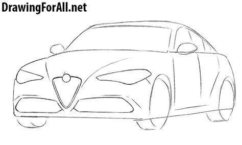 how to draw an audi r8 drawingforall net how to draw an alfa romeo drawingforall net