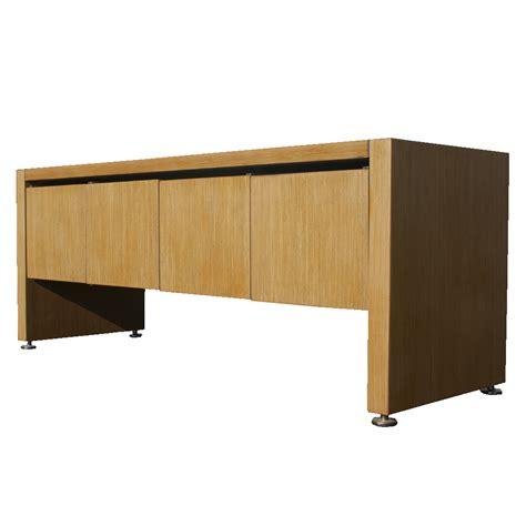 credenza cabinet 5ft vintage knoll bill stephens oak credenza cabinet ebay