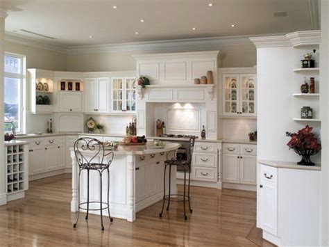 pictures of kitchen with white cabinets best kitchen paint colors with white cabinets home