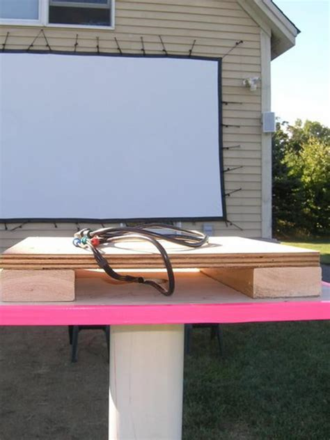 backyard tv projector how to set up your own outdoor home theater digital trends