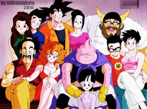 imagenes de la familia de goku la familia de goku by salvamakoto on deviantart