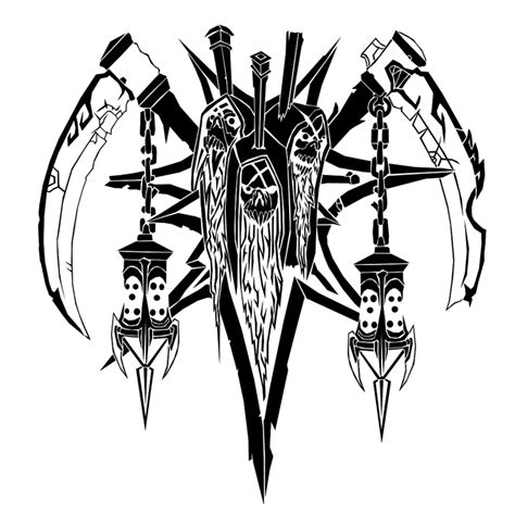 cult of the damned crest by ropa to on deviantart